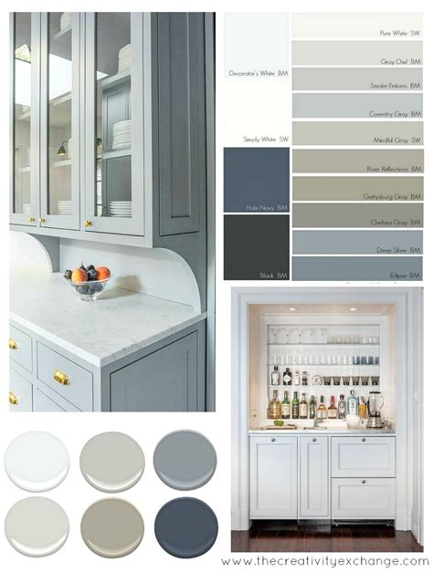 Nice Charcoal Gray Kitchen Cabinets #5: Popular-and-versatile-cabinet-paint-colors-for-kitchen-bath-and-built-ins.-The-Creativity-Exchange-4.jpg