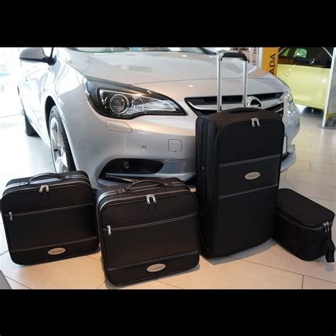 opel cascada trunk roadsterbags for opel cascada convertible toplift open