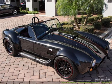 Cobra 6 Vs Auto by 1965 Replica Kit Back Draft Racing Shelby Cobra Roush 427