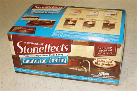 Stoneffects Countertop Coating the ingredients