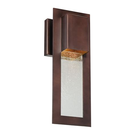 modern outdoor wall light in bronze 72381 246 destination lighting