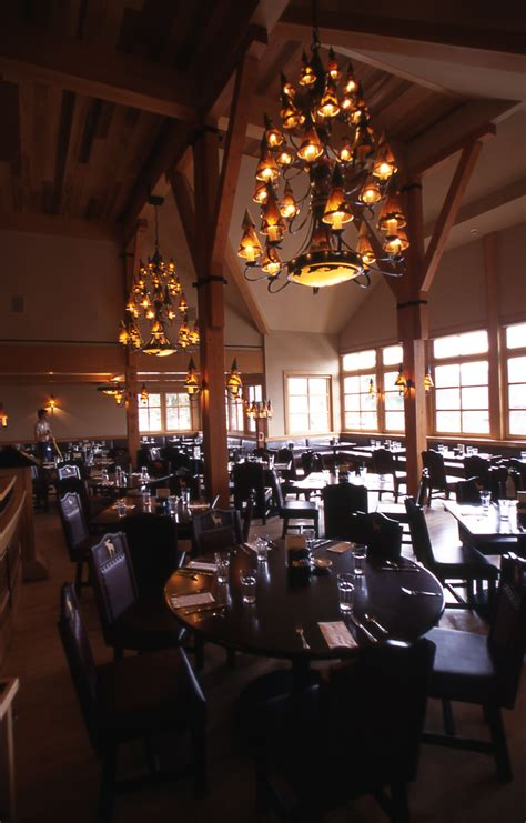 Faithful Inn Dining Room by Yellowstone S Photo Collection
