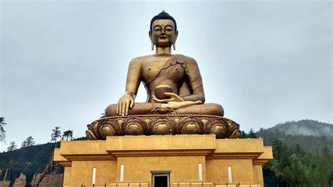 the fortunate buddha series 1 buddha dordenma statue bhutan tourism from india series