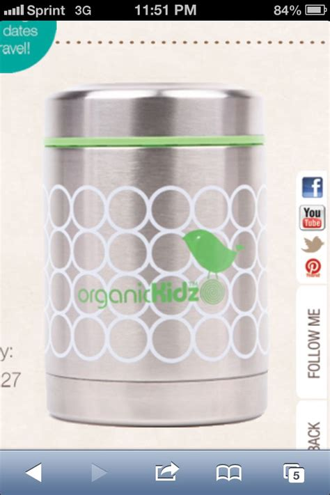 Organic Stainless Food Container 16 best baby foods and containers images on