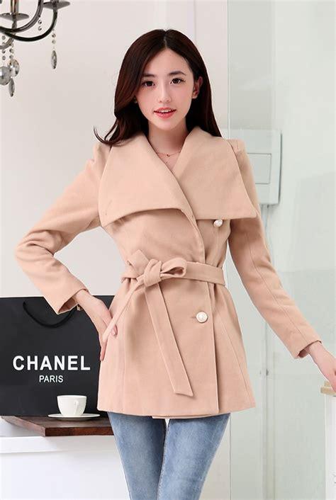 Jaket Wanita Panjang Coat Wanita Coat Panjang Autumn 1 jyw807lighttan jaket wanita korea lighttan korean coat coat korea