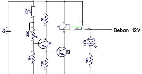 ldr pada resistor membuat rangkaian sensor cahaya ldr www data iptek elektronika robotika pengetahuan