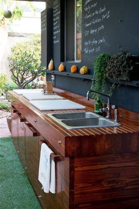 outdoor kitchen sinks ideas 15 most outrageous outdoor kitchen sink station ideas