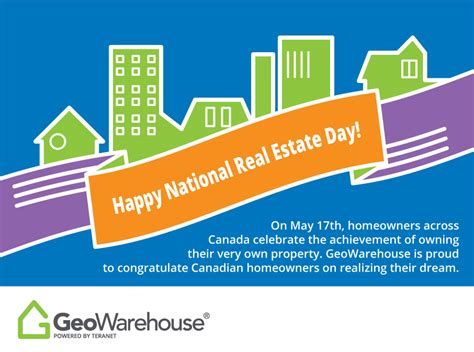 happy national real estate day geowarehouse
