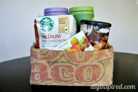 Creative Gift Card Basket Ideas - gift card pairing ideas for the holidays diy inspired