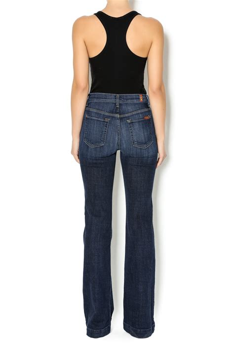 7 For All Mankinds Leg In by 7 For All Mankind Wide Leg Trousers From Dallas By