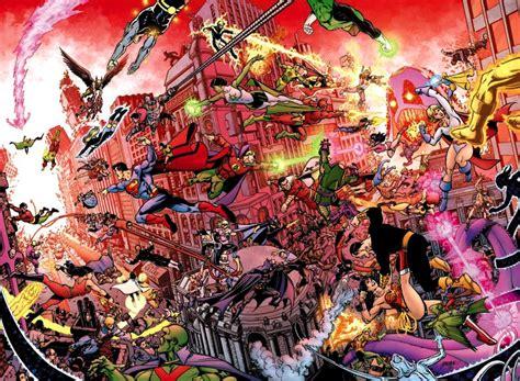 crisis on infinite earths george perez guest 2015 comics pop
