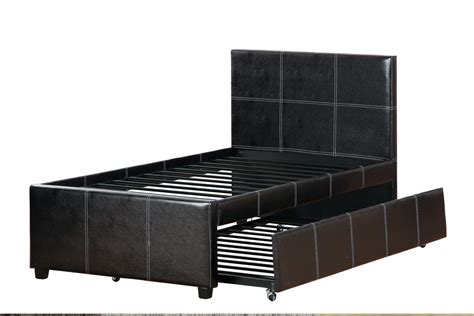 dimensions for full size bed poundex f9214f full size bed with trundle in los angeles ca