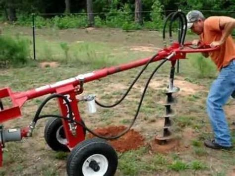 Aspen Rent All   TOW BEHIND POST HOLE AUGER Rentals