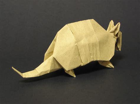 Origami Armadillo - index of origami oripics armadillo