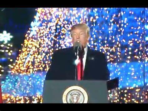 christmas tree lighting speech sles emphasizes quot merry quot in tree lighting speech comments