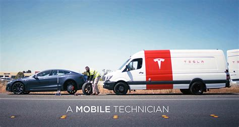 Tesla Electrical Services Charged Evs Tesla Service Vehicles Going Electric