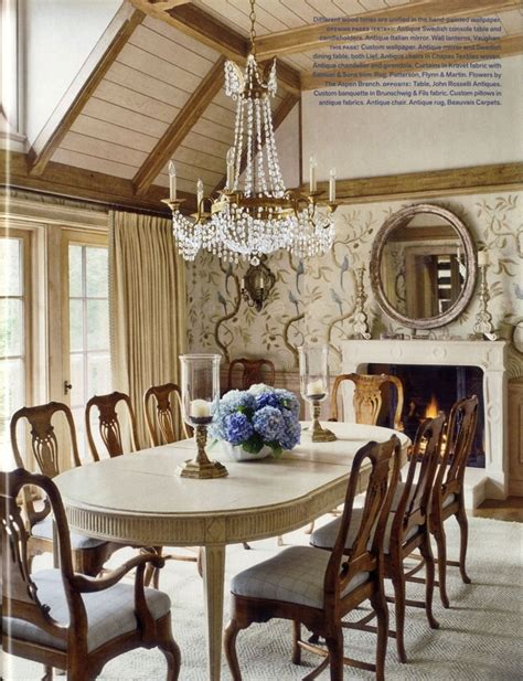 The Dining Room Easton by David Easton Dining Room In Aspen Home Designer David
