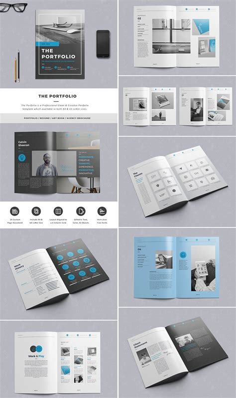 20 Best Indesign Brochure Templates For Creative Business Marketing Creative Graphic Design Layout Templates