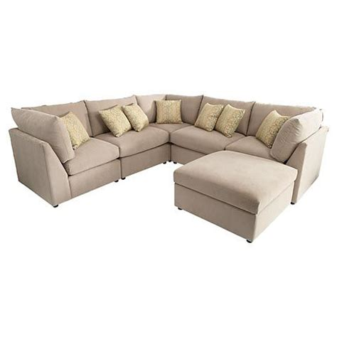 U Shaped Sectional With Ottoman by 1000 Ideas About U Shaped Sectional On U