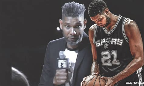 What Is Tim Doing Now by Spurs Tim Duncan Shares Story From When Manu