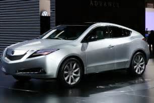 car collection the luxury cars of acura zdx