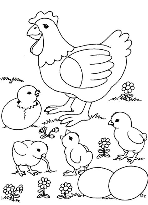 Little Animal Coloring Pagesl