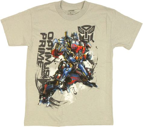Tshirtt Shirt Transformers transformers optimus graphic leap youth t shirt