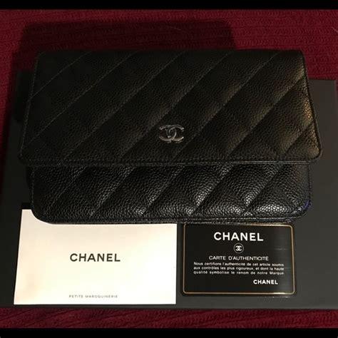 Chanel Pouch Series 09nc1120 chanel handbags woc caviar leather series 25 poshmark