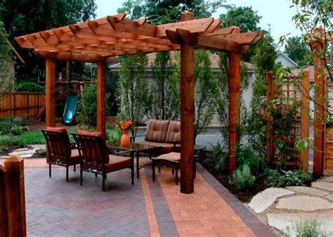 22 beautiful garden design ideas wooden pergolas and 22 beautiful wooden garden designs to personalize backyard