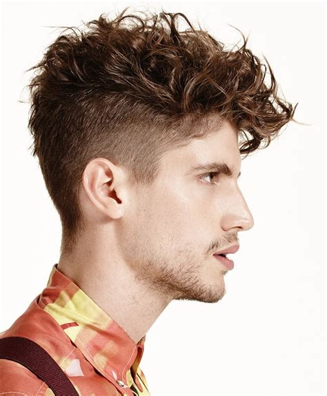 2016 men s trendy undercut hairstyles for curly hair men