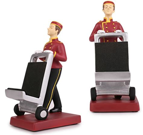 Hotel Porter by Hotel Porter Phone Stand Craziest Gadgets