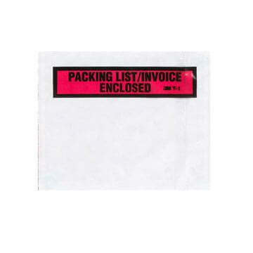 Invoice Enclosed Stickers