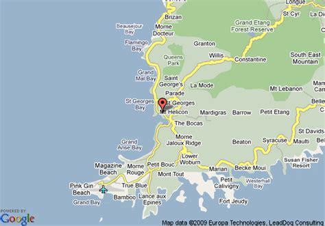 coyaba resort grenada map map of coyaba resort grenada
