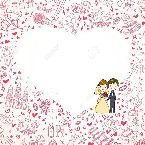 Wedding Background Clipart by Wedding Invitation Clipart Background