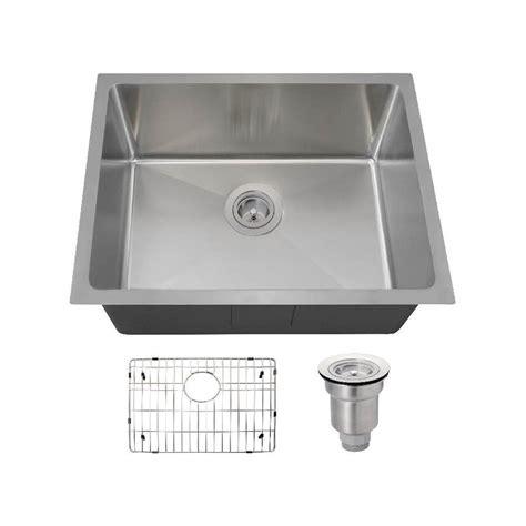 polaris sinks undermount stainless steel 23 in single