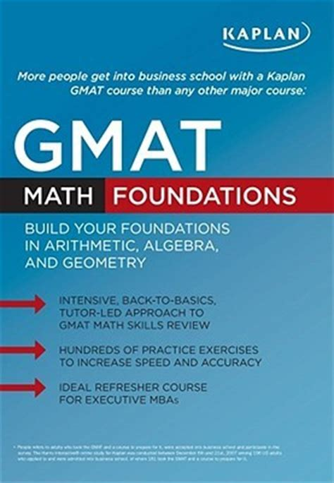 kaplan gmat math foundations books kaplan gmat math foundations by kaplan inc reviews