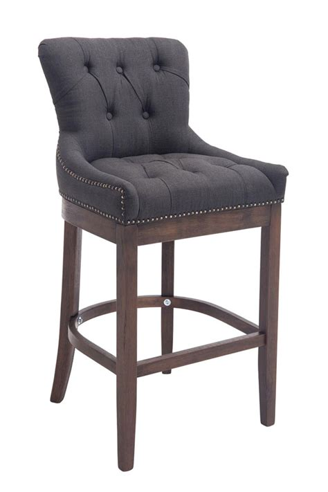 armchair with stool elegant bar stool buckingham tweed breakfast kitchen