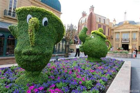 2014 Epcot International Flower And Garden Festival International Flower And Garden Festival