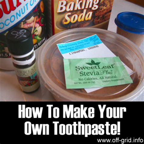 how to make toothpaste how to make your own toothpaste grid