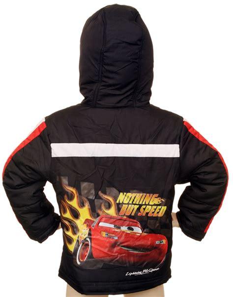Jaket Cars Disney disney pixar cars boys jacket black mcqueen hoodie coat