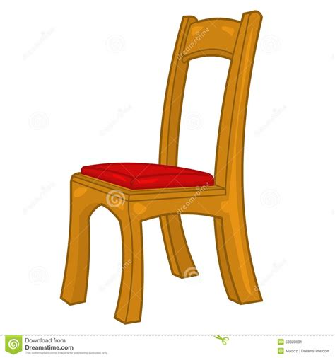 Chair Illustration by Chair Isolated Illustration Stock Vector Image 53328681
