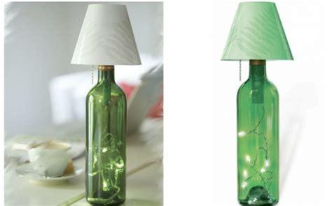diy home ideas dekorieren diy le aus weinflaschen kreative dekoideen