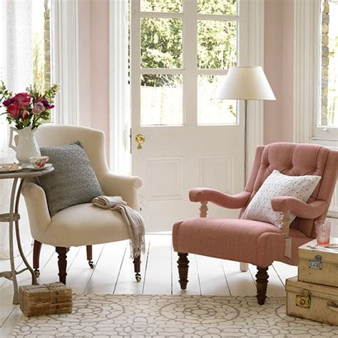 mix and match armchairs small country living room ideas