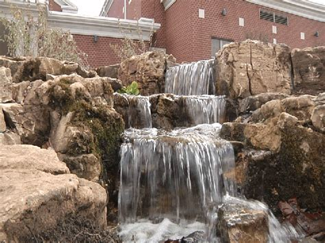 aquascape pondless waterfall disappearing pondless waterfall contractor south jersey