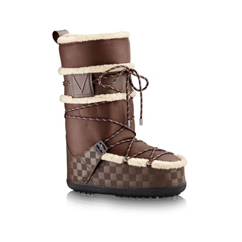 louis vuitton mens boots louis vuitton snowstorm snow boot in brown for lyst