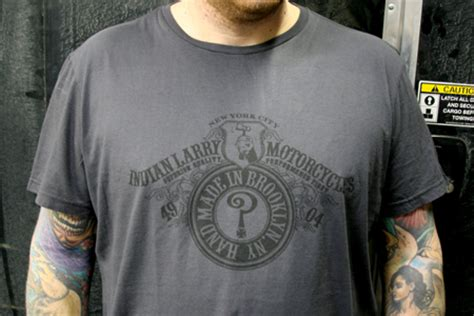 indian larry  shirts joseph morgano
