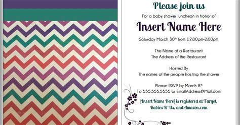 Modern Baby Shower Invitations by Mart Diy Modern Baby Shower Invitations