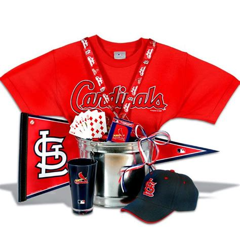 Stl Cardinals Gift Cards - st louis cardinals gift basket classic gotta love the cards pint