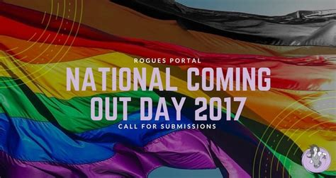 Site Takeover National Coming Out Day 2017 Rogues Portal