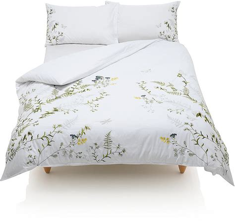 Marks And Spencer Bedding Sets Marks And Spencer Botanical Embroidered Bedding Set Shopstyle Co Uk Home